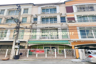 For RentTownhouseLadprao 48, Chokchai 4, Ladprao 71 : 4-storey townhouse for rent in Ladprao Road near MRT Lat Phrao