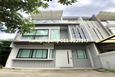 For RentTownhouseNawamin, Ramindra : ให้เช่า ทาวน์โฮม 3 ชั้น ถนนรามอินทรา ใกล้โรงเรียนสุขฤทัย