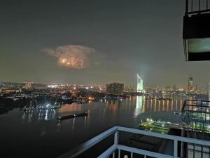 For SaleCondoRama3 (Riverside),Satupadit : Condo for sale U Delight Rama 3 ** Nice river view ** Size 1 bedroom, 1 bathroom, 29th floor, Chao Phraya River view, Top Vie, price only 5.19 million (negotiable)