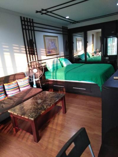 เช่าคอนโดสุขุมวิท อโศก ทองหล่อ : Studio Condo for Rent at Grand Park View Asoke [Ref: P#202001-12573]