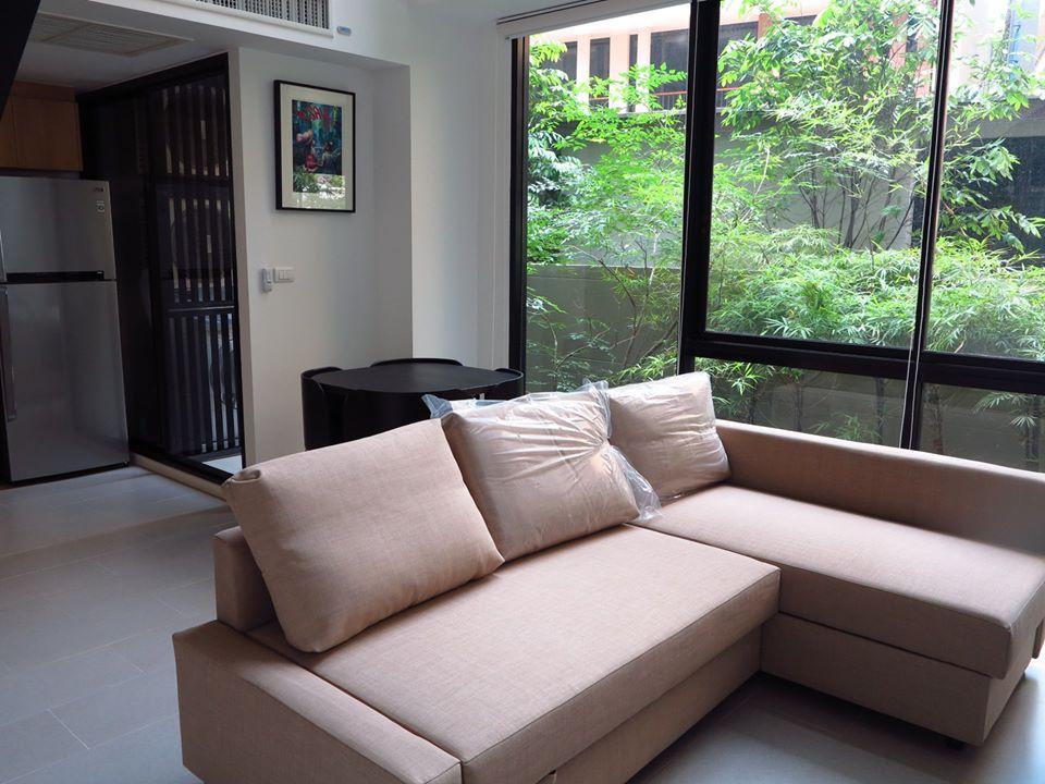 ขายคอนโดวิทยุ ชิดลม หลังสวน : ขาย คอนโด เดอะ เนสท์ เพลินจิต ชั้นที่ 2-3 ห้อง duplex (62-0205-04)