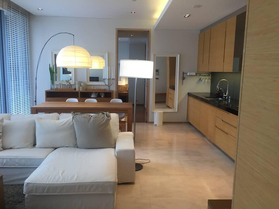 For SaleCondoSilom, Saladaeng, Bangrak : For sale SALADAENG Residences, 18th floor, south balcony