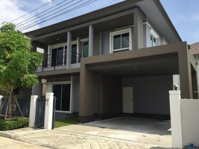 For RentHouseRama5, Ratchapruek, Bangkruai : House for rent, beautiful decorated, fully furnished, Chuanchuen Grand, Rajapruek
