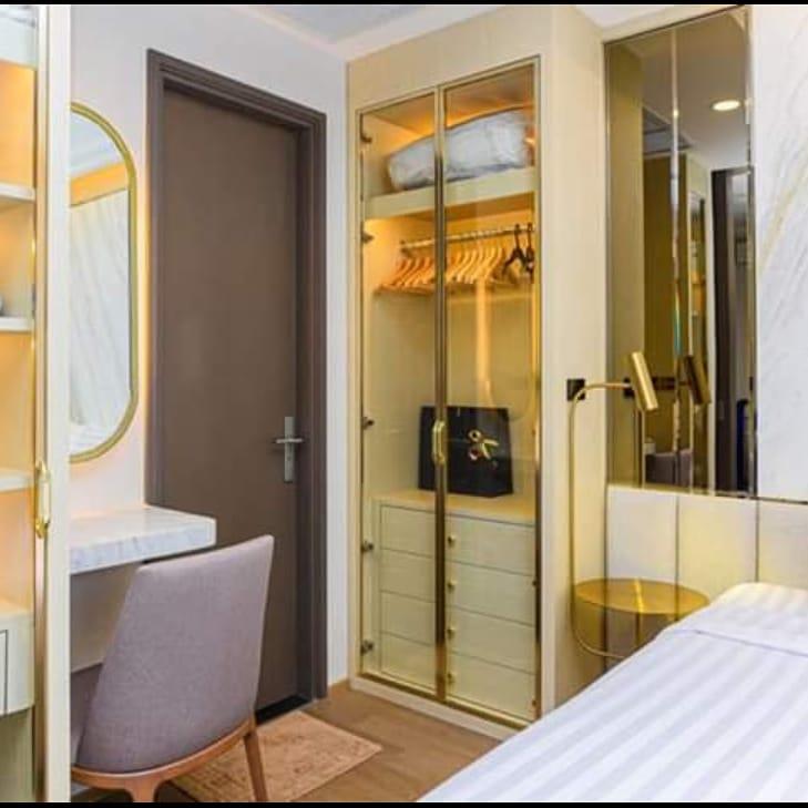 For RentCondoSiam Paragon ,Chulalongkorn,Samyan : For Rent Ashton Chula- Silom 180 M. From MRT Samyan Rent 35K