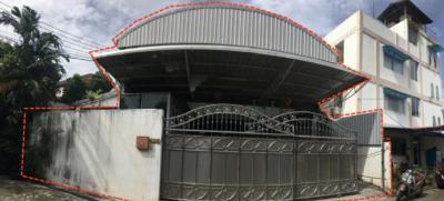 ขายโกดังปิ่นเกล้า จรัญสนิทวงศ์ : ขายอาคารตึก 2 ชั้นพร้อมโกดังใกล้ MRT สิรินธรและบางยี่ขัน