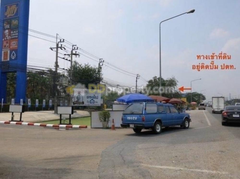 For SaleLandBangbuathong, Sainoi : Land for sale 3 rai 2 ngan, Bang Bua Thong, Suphan Buri, Highway 340