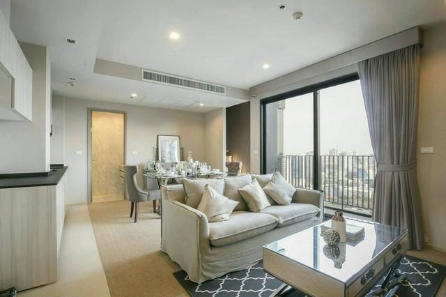 For RentCondoSukhumvit, Asoke, Thonglor : ++ Urgent rental ++ HQ Thonglor, Duplex 1 bedroom, 80.94 sq m, 33rd floor, very beautiful decoration, wide room, open view