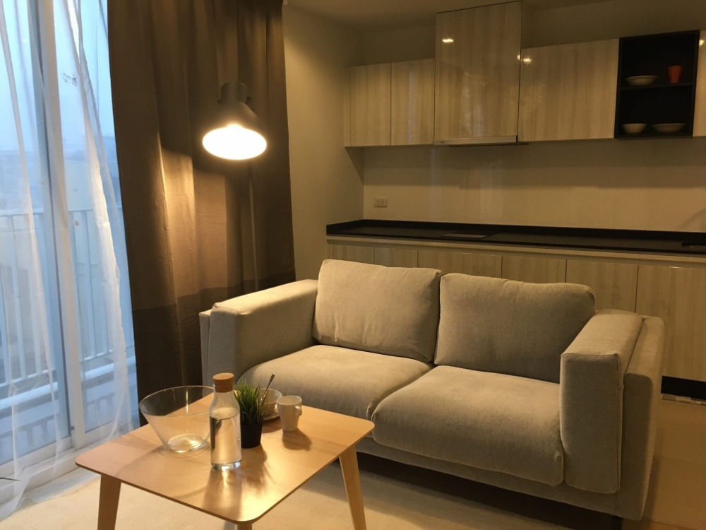 For SaleCondoSukhumvit, Asoke, Thonglor : ++ For Sale ++ HQ Thonglor, 1 bedroom 43.56 sq.m., 8th floor, beautiful decoration, spacious room, open view