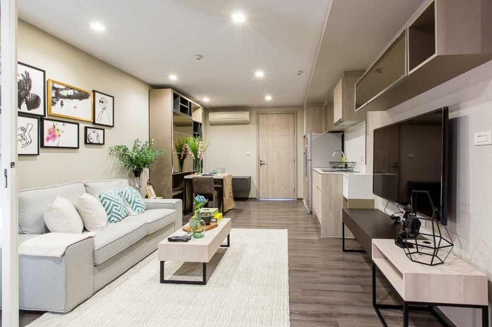 For RentCondoOnnut, Udomsuk : For Sell / Rent: Condo Sari By Sansiri Sukhumvit 64, Beautifully Furnished 1BR 42.05Sq.m. (By Owner)