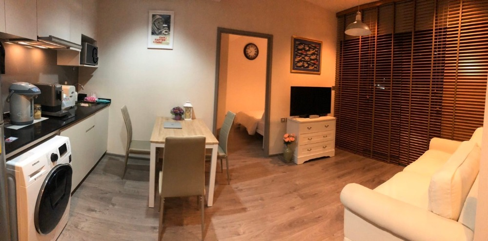 For RentCondoLadprao, Central Ladprao : Condo for rent 2 bedrooms, Whizdom Avenue, Ratchada-Ladprao 60 sqm., 5th floor, fully furnished, 28,000 baht / month