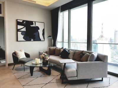 เช่าคอนโดวงเวียนใหญ่ เจริญนคร : For Rent The Residence at Mandarin 2 bedroom 27Fl.