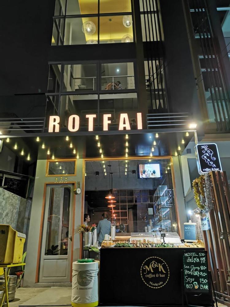 For RentBusinesses for saleRatchadapisek, Huaikwang, Suttisan : For rent Hostel Hostel 5 bedrooms, 3 floors, accommodate 32 people