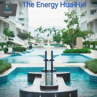 For SaleCondoHua Hin, Prachuap Khiri Khan, Pran Buri : THE ENERGY- HUA HIN Fully-furnished 2-bedroom in beach town for sale