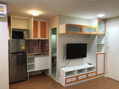 เช่าคอนโดลาดกระบัง สุวรรณภูมิ : ให้เช่า ☘ลุมพินี คอนโด ร่มเกล้า-สุวรรณภูมิ☘ ห้องใหญ่ 2 ห้องนอน ราคาเบาๆ
