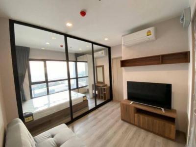 For RentCondoRattanathibet, Sanambinna : For rent politan rive, 17th floor, 25 sq.m., corner room, fully furnished, river view