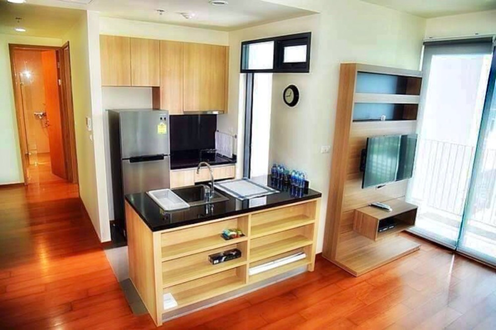 For RentCondoRama3 (Riverside),Satupadit : The Parco Condo for rent, Nang Linchi-Sathorn, Floor 23, 68 sq.m., 1 bedroom, 1 living room, fully furnished