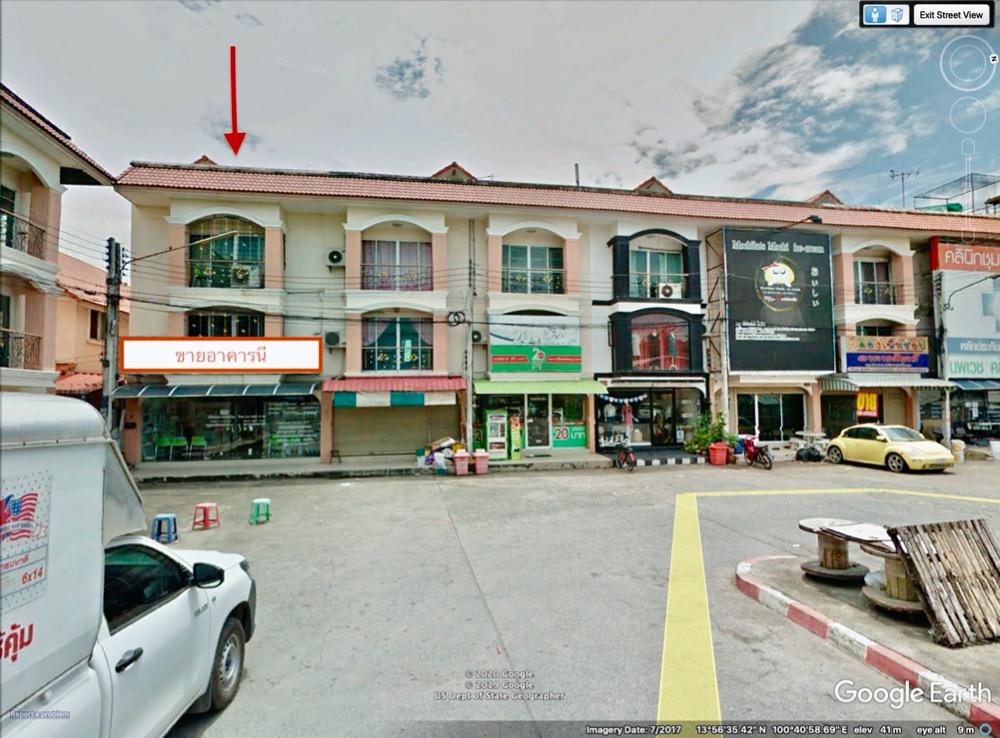 ขายตึกแถว อาคารพาณิชย์รังสิต ธรรมศาสตร์ ปทุม : ตลาดเอซี อาคารพาณิชย์ 3 ชั้น 31 ตารางวา 3 ห้องนอน 3 ห้องน้ำ ห้องมุม หน้ากว้าง 7 ม. ทิศตะวันออก ตรงข้ามตลาด เอซี ลำลูกกา คลอง4 เจ้าของขายเอง