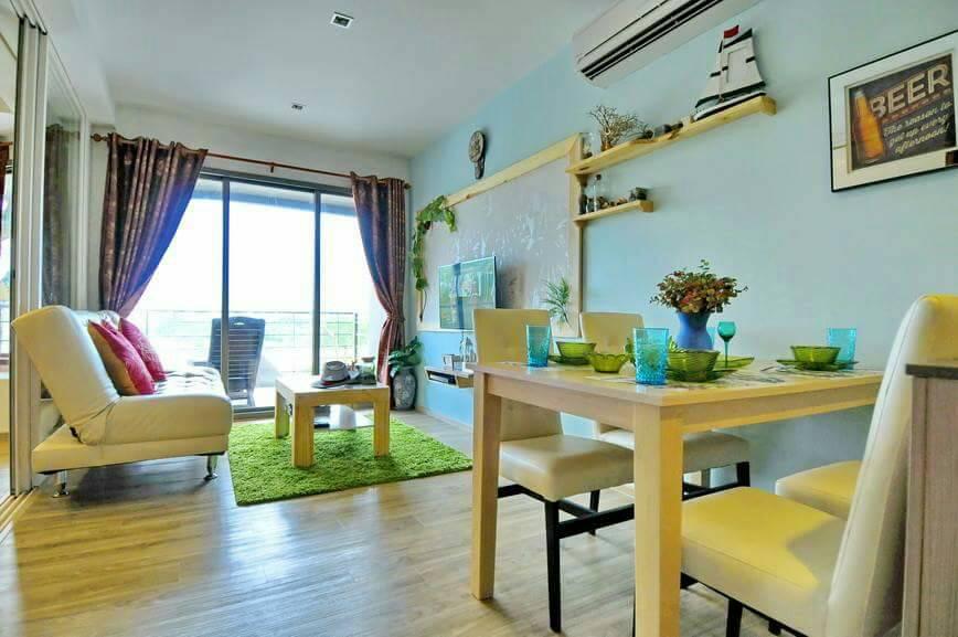 ขายคอนโดเพชรบุรี : ขาย คอนโด บ้านแสนงาม หัวหิน อาคาร 3 ชั้น 3 (62-0058-45)