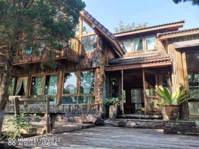 ขายบ้านนครราชสีมา เขาใหญ่ : ขายบ้านพักตากอากาศยุโรเปี้ยนคันทรีสไตล์ ติดเขาใหญ่