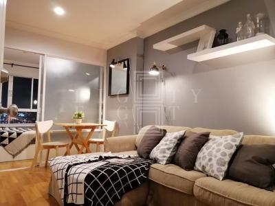 เช่าคอนโดพระราม 9 เพชรบุรีตัดใหม่ : For Rent Lumpini Place Rama 9-Ratchada (33.69 sqm.)