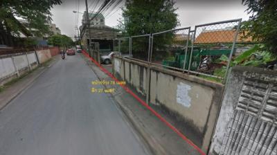 For SaleLandBangna, Lasalle, Bearing : Land for sale in Soi Bang Na-Trat 4, orange area with buildings, area 1-0 -20 rai, near BITEC Bangna