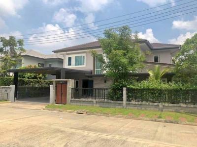 For SaleHouseNawamin, Ramindra : House for sale along Ekamai-Raminthra Expressway, Wararom Premium Watcharapol-Chatuchot corner plot.
