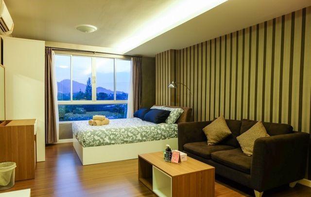For SaleCondoHua Hin, Prachuap Khiri Khan, Pran Buri : For Sale Baan Imm-aim Hua Hin, 3rd floor, west balcony