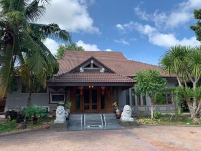 For SaleHousePattaya, Bangsaen, Chonburi : Urgent sale! Luxury house Soi Na Chom Thian 21, area 3 rai