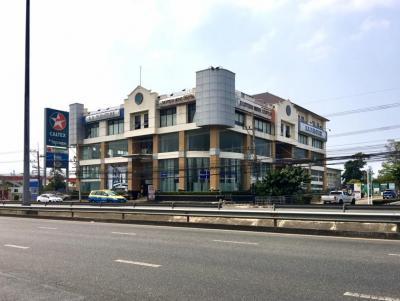 ขายที่ดินพัทยา ชลบุรี : ขาย ที่ดิน 2-3-84 ไร่ พร้อมอาคาร 4 ชั้นครึ่ง ติดถนนสุขุมวิท พัทยา ติดโลตัส Outlet Mall Pattaya