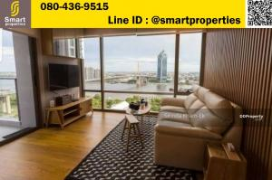 For SaleCondoRama3 (Riverside),Satupadit : Star View Condo Rama 3 for sale with tenants 60,000 baht per month, 5% return over. Beautiful room decorated with good materials. Corner room, location B3, river view 82 sqm. Floor 25, sold 12.4 million
