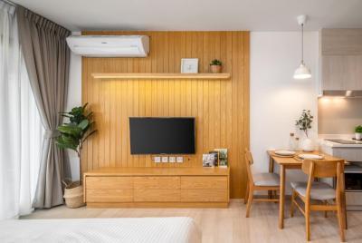 For RentCondoWitthayu,Ploenchit  ,Langsuan : A0584 For rent Life one Wireless 28 sqm. FL.22 Japanese Style *BTS Ploenchit