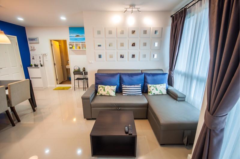 ขายคอนโดเพชรบุรี : ขาย คอนโด บ้านทิวลม ชะอำ ชั้น 7 วิวสระว่ายน้ำ (63-0273-45)