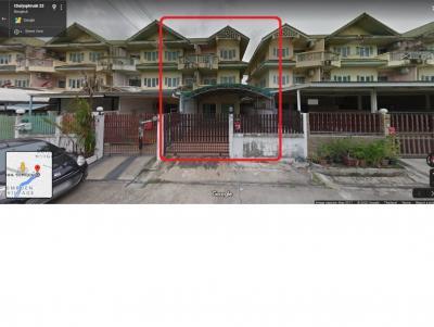 ขายทาวน์เฮ้าส์/ทาวน์โฮมปิ่นเกล้า จรัญสนิทวงศ์ : ขายด่วน! ทาวน์เฮ้าส์ ช่อชัยพฤกษ์ 1, 42.4 ตร.ว. ซอยชัยพฤกษ์ 23 ถนนชัยพฤกษ์ เขตตลิ่งชัน กรุงเทพฯ 5.3 ล้าน