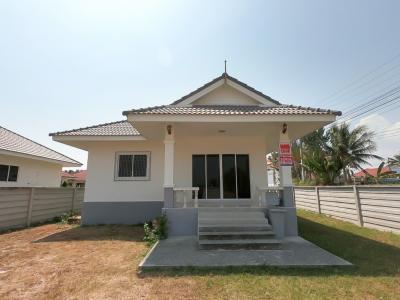 ขายบ้านเพชรบุรี : ขายบ้านเดี่ยว สร้างใหม่ อ.หัวหิน ใกล้วัดห้วยทรายใต้ 113 ตรว. พร้อมอยู่