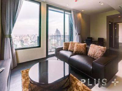 For RentCondoSukhumvit, Asoke, Thonglor : CD175314 Superb city view near MRT and BTS