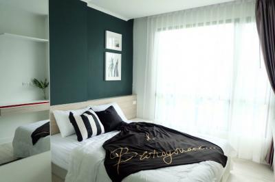 For RentCondoRatchadapisek, Huaikwang, Suttisan : A0593 For rent G-Style Condo Huai Khwang, 1 bedroom, 8th floor, beautiful room, Pracharat Bamphen, 18 * MRT Huai Khwang.