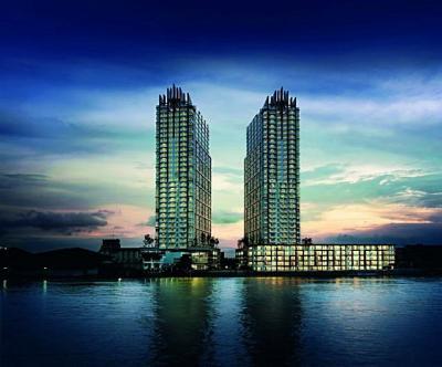 For SaleCondoRathburana, Suksawat : Ivy River Condo Ratburana, Chao Phraya River view, high floor corner room, cheaper than the market.