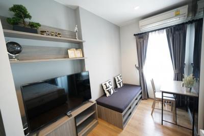For RentCondoLadprao, Central Ladprao : ++Urgent!! (Promotion Lockdown) Luxury condo, studio room, high floor, for rent ++