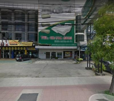 For SaleShophousePattanakan, Srinakarin : 4-storey commercial building for sale 3 booths with elevator On Srinakarin Road near Thanya Park