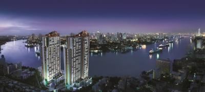 ขายคอนโดราษฎร์บูรณะ สุขสวัสดิ์ : คอนโดติดริมแม่น้ำ ห้องมุม 42.79sqm บรรยากาศดี วิวแม่น้ำเจ้าพระยา ชั้นสูง เฟอร์ครบ พร้อมอยู่
