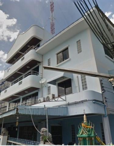 เช่าโกดังเลียบทางด่วนรามอินทรา : ให้เช่าอาคารสำนักงาน4 ชั้น2อาคารพร้อมโกดังรามอินทรา14(มัยลาภ) แขวงจรเข้บัว เขตลาดพร้าว