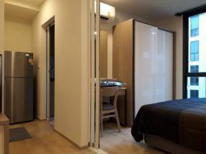 เช่าคอนโดอ่อนนุช อุดมสุข : M1935- ให้เช่าคอนโดแชมเบอร์ส อ่อนนุช สเตชั่น สุขุมวิท81 26.34ตรม.ชั้น6 อาคารA 1ห้องนอน1ห้องน้ำ@16500