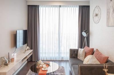 Sale DownCondoOnnut, Udomsuk : Sell Down Payment Whizdom Inspire 2 bedroom, high floor, beautiful view, good location