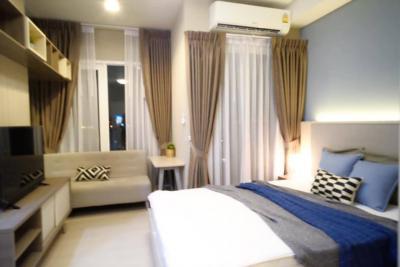เช่าคอนโดรัชดา ห้วยขวาง : คอนโดใกล้ MRT ที่ Chapter One Eco รัชดา-ห้วยขวาง ส่วนกลางฟรี 24 ชม. ห้องสวย พร้อมอยู่!!