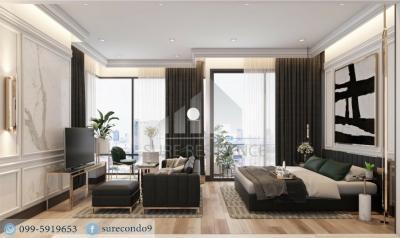 For RentCondoSilom, Saladaeng, Bangrak : 😊 For RENT 1 bedroom 🚄near BTS Chong Nonsi, just 350 meters.