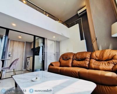 For RentCondoSathorn, Narathiwat : 😊 For RENT Duplex 1 bedroom 🚄near BTS Chongnonsi just 2 minutes.