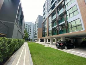For SaleCondoOnnut, Udomsuk : ดาวน์ Down payment, beautiful position, open view, high floor, no elevator and garbage room