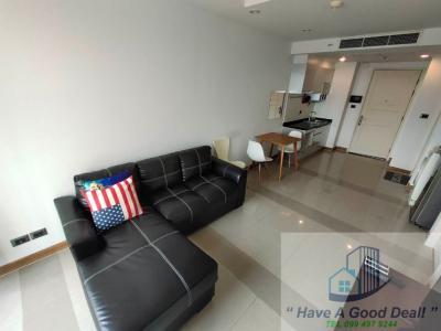 For SaleCondoRatchadapisek, Huaikwang, Suttisan : 47 sq. M. Suite, 7th floor, Supalai Wellington 1