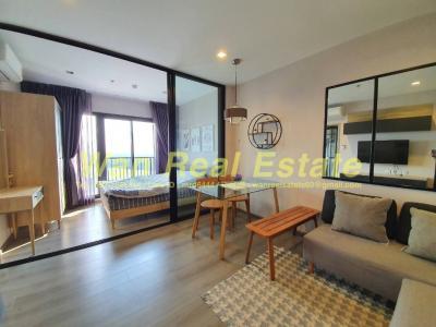 For RentCondoRattanathibet, Sanambinna : For rent, politan rive condo, 31st floor, 30 sq.m., fully furnished, beautiful river view