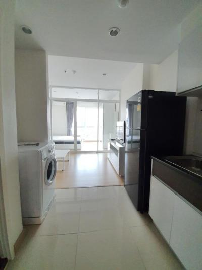 For RentCondoSathorn, Narathiwat : For rent, Supalai Lite Ratchada, Narathiwat Sathorn, 18th floor, size 35 sq.m., fully furnished